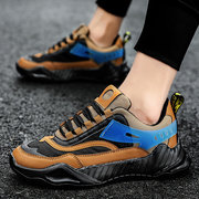 Men's Shoes Season Youth Running Shoes Men's Mesh Sports Shoes Tide Shoes Male Students Breathable Mesh Shoes Old Shoes