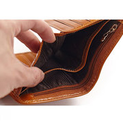 Women Genuine Leather Wallet Business Card Holder Purse