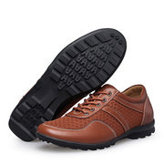 Men Large Size Mesh Fabric Splicing Breathable Outdoor Sport Casual Shoes