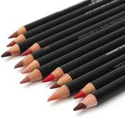 IMAGIC 12 cores Lip Liner Pen Lipstick Lápis Labios Maquiagem Cosmética