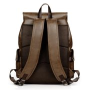 Uomo Solid Casual Multifunzione Fashion Laptop Backpack