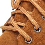 Stivali invernali della caviglia piatta di nuovo cotone invernale