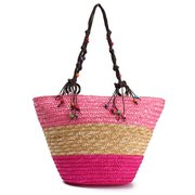 Belle nouvelle arrivée Summer Beach Straw Shoulder Bag Sac Hobo