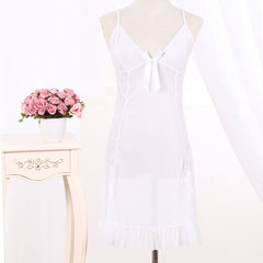 Sexy Lingerie Temptation Perspective Strap Nightdress