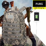 WINNE R WINNE R CHICKEN DINNER Cosplay Level 3 Backpack Molle Assault Pack in PUBG