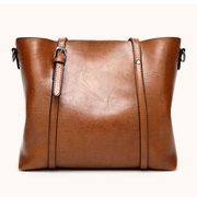 Women PU Leather Handbag Dual-use Crossbody Bag