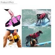 4 ألوان l حجم بيت جرو الحياة سترة الكلب الطفو المعونة سلامة السباحة الصدرية الحافظ