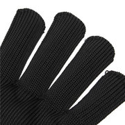 Black Safety Anti-Cutting Gloves Breathable Outdoor Climbing Working Gloves