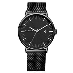 Calendar Casual Style Men Wristwatch Full Steel Luminous Display Quartz Watch