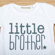 Brother Matching Clothes For Boys 0-3 Years