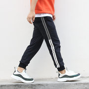 Children's Clothing Boys Side Striped Cotton Sports Trousers