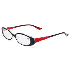 Damen Ultraleichte, flexible PC-Brille, Lesebrille, Brille, Brille