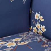 1/2/3/4 Royal Flower Seater Home Soft Elastic Sofa Cover Easy Stretch Slipcover Protector Couch