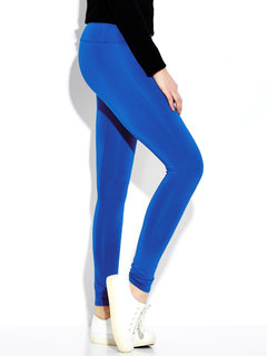 Women Candy Color Stretchy Sport Yoga Leggings