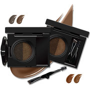 Novo Air Cushion Eyebrow Enhancer Waterproof Double Color Cosmetics Eyes Makeup With Mirror