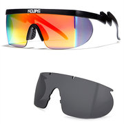 Men's Chameleon Polarized Sunglasses with Interchangeable lenses and 100% UV Protective Sunglasses