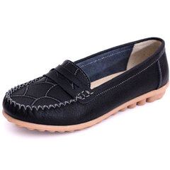 Leather Casual Flat Comfortable Loafers