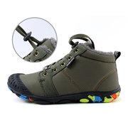 في الهواء الطلق للماء الملونة الوحيدة الدافئة بطانة أحذية الثلج للشباب والأطفال