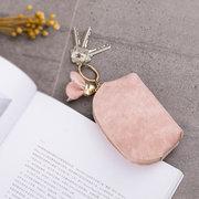 Bonbons couleur shell belle pièce de monnaie porte-cartes porte-clés pour les femmes