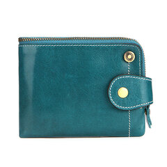 RFID Women Genuine Leather Multi-function Wallet