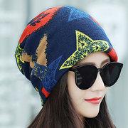 Mulheres Inverno Quente Beanie Chapéu Étnico Do Vintage Vogue Bom Elastic Turban Scarf Caps