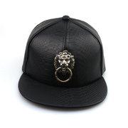 الرجال النساء فو الجلود الهيب هوب قبعة بيسبول قابل للتعديل Snapback الأسد Bboy كاب