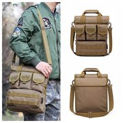 Tactical Outdoor Casual Crossbody Bag Sports Multi Pocket Oxford Sling Bag For Men