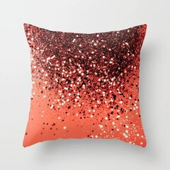 Modern Nordic Ins Simple Gradient Shiny Pillowcase Cotton Linen Sofa Home Car Cushion Cover