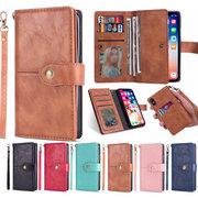 Cas multifonctionnel fort de téléphone de femmes pour le portefeuille de fente de carte d'Iphone 4