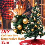 24PCS Merry Christmas Tree Decoration Balls Ornaments Party Wedding Gift
