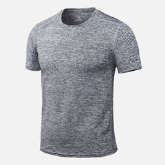 Mens Sports Quick drying Elastic Breathable Casual Skinny Tops