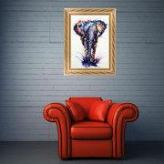 5D Diamant Mosaik Malerei Elefant Kristall Stickerei Kreuzstich Farbe Wohnkultur