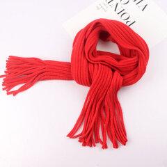 Warm Wool Soft bufanda de invierno con borla Diseño para niños de 1 a 12 años