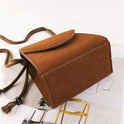 Women Chic Vintage Crossbody Bag Faux Leather Shoulder Bag