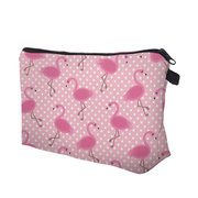 Travel Portable Storage Bag Flamingo Design Cosmetic Bag Europe Lady Daily Hand Bag