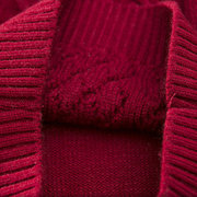 Jungen Pullover Mädchen Kinder warm verdicken Strickwaren für 2Y-7Y