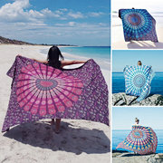 59x83'' Bohemian Style Thin Chiffon Beach Yoga Towel Mandala Rectangle Bed Sheet Tapestry