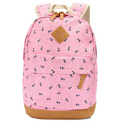 Women Bolsas Mochila Feminina Canvas Printing Backpack