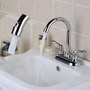 الحديث الكروم الباردة والساخنة الحمام حوض الحنفيات مزدوجة مفتوحة حوض بالوعة خلاط صنبور