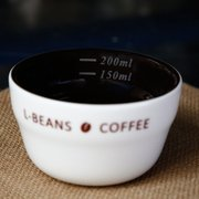 Coffee Cup Measuring Bowl Cupping Cup Ceramic Cup Bowl Coffee Evaluation 200ml