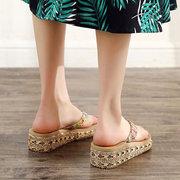 Pantofole casuali a forma di spiaggia con infradito e ciabatte da spiaggia