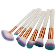 8Pcs Pennello per trucco sfumato Pennello per capelli professionale Set per trucco cosmetico