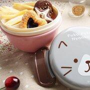 Microondas Caja de almuerzo De doble capa Instantánea Fideos Tazón Almacenamiento de plástico Portátil Vajilla al aire libre