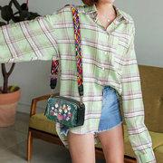 Women Bohemian Forest Series Print Crossbody Bags Mini Handbags