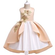Flower Girls Dress Toddler Pageant Vestidos Para 3Y-13Y