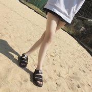 الإناث الموسم شخصية جديدة زوجين الطلاب لينة أسفل أحذية الشاطئ كبيرة الحجم الرياضة والترفيه أحذية المد