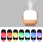 250 ml Wood Grain Aromatherapy Machine Colorful Ultrasonic Essential Oil Spreader Silent Humidifier