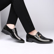 Men Stylish Comfy Slip On Business Casual Wedding Dress Shoes