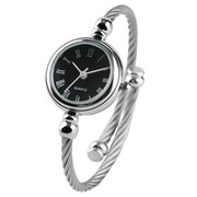 Fashion Small Dial Lady Wrist Watches Stainless Steel Roman Number Bracelets Watches for Women