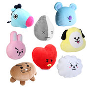 Cute Cartoon 30x40cm Plush Pillow Doll Cushion Toy Soft-touching Home Pillow